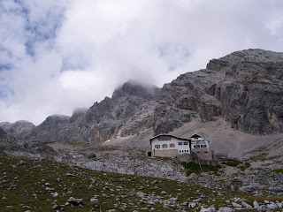 Knorrhütte, Via Alpina, Bayern Germany