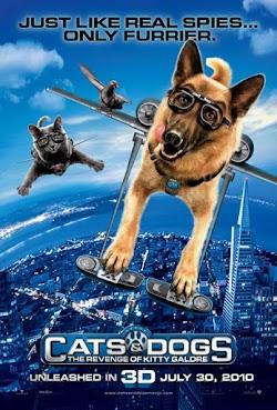 Cuộc Chiến Chó Và Mèo 2: Kitty Galore Báo Thù - Cats & Dogs: The Revenge Of Kitty Galore (2010) Poster
