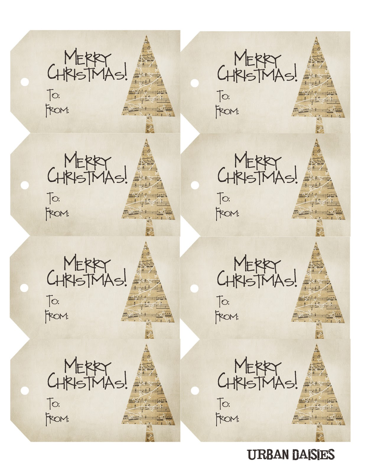 Refreshing image inside free printable holiday gift tags