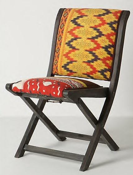 Dose of Design Love it Ikat folding chair