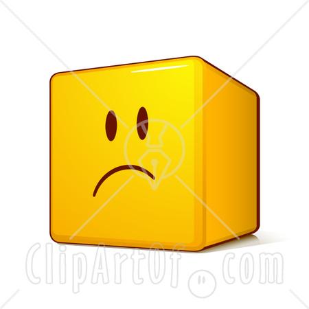 happy face sad face. detail sad face cartoon