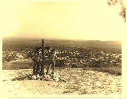 Ultima Cruz de cerro de Caquén