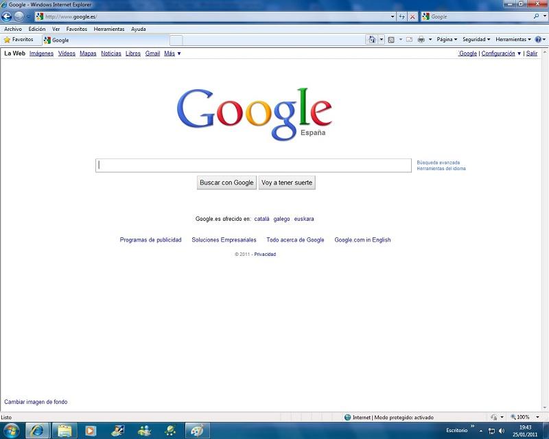 la primera pagina de internet: