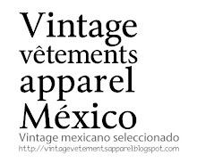 Vintage seleccionado mexicano