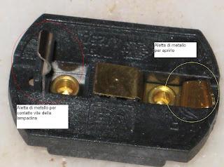Fai da te collegare un portalampada provvisorio in un for Collegare fili elettrici
