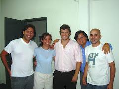 Con los compañeros de GENERACIÓN K