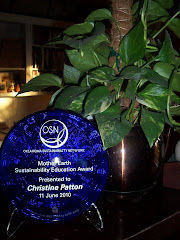 Winner, 2010 Mother Earth Award