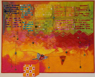 art quilts, textile art by Kathy York