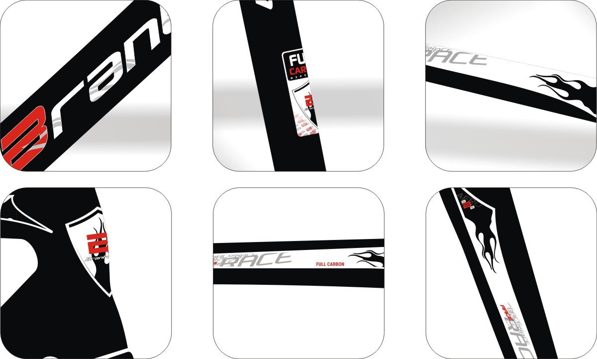 Armario Capsula Masculino ~ Stickers Design Adesivo Bike Brantegem Race