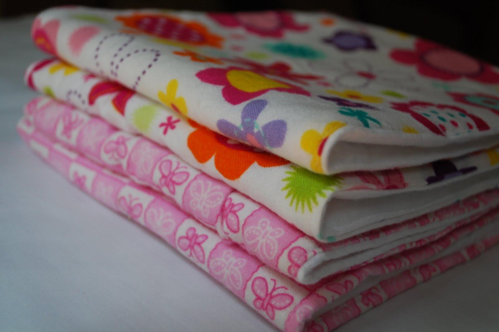 Craftaholics anonymous super duper easy burp cloth tutorial baditri Image collections