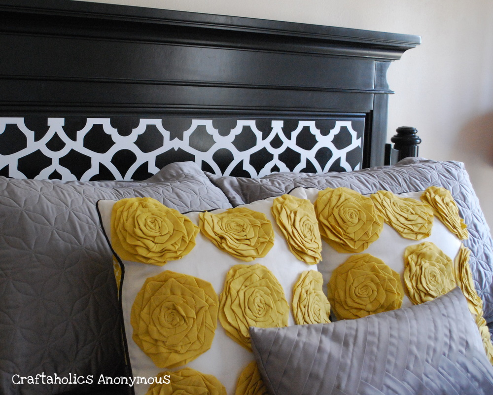 Http Www Craftaholicsanonymous Net Headboard Makeover And Chance To Win