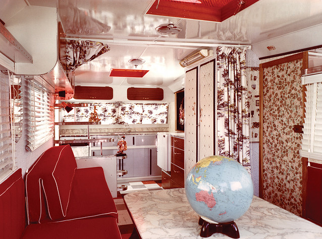 Day Vintage: Vintage Mobile Home Mondays  1964 Caravelle Interior