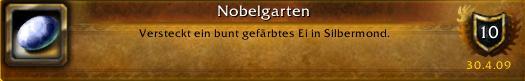 WoW Erfolg Nobelgarten