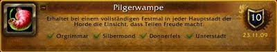 wow pilgerfreuden erfolg achievement guide pilgerwampe