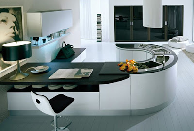 Integra U-shape Modern Kitchen Design