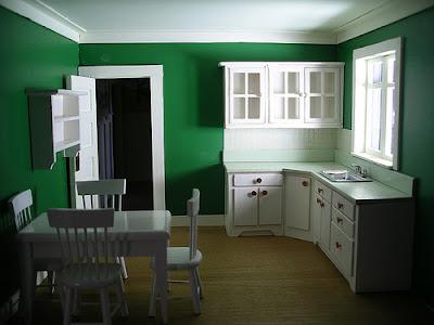 Natural Green Kitchen