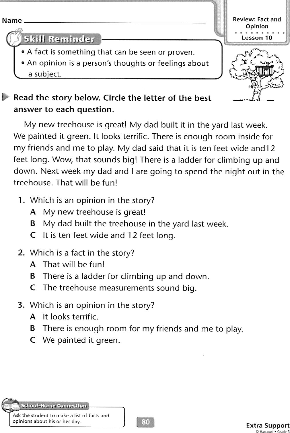 Homework help for grade 3