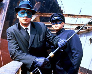 Van Williams as the Green Hornet and Bruce Lee as Kato in The Green Hornet TV Series