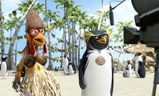 Chicken Joe and Cody Maverick in Surfs Up
