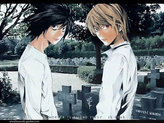 Light and L of Death Note
