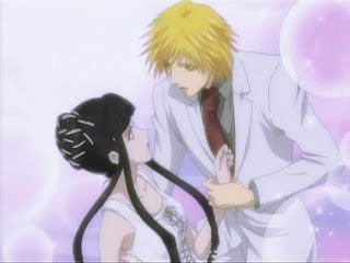 Sunako Nakahara and Kyouhei Takano of Yamato Nadeshiko - The Wallflower