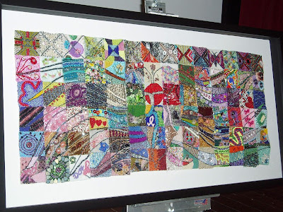 bead quilt by GLBS in memory of Barb Davis