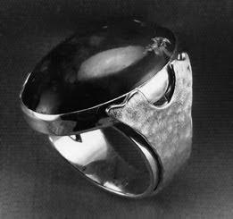 metalsmith, man's ring by Robin Atkins