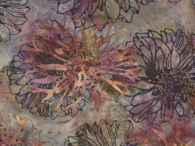 batik fabric, Hoffman, Petal G2215