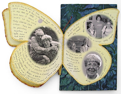 bead journal project, Robin Atkins, butterfly book
