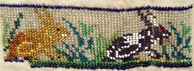 vintage bead embroidery, Robin Atkins collection