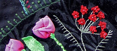 Crazy quilt, detail, by Robin Atkins