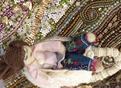 bead embroidery, BJP by Susan E