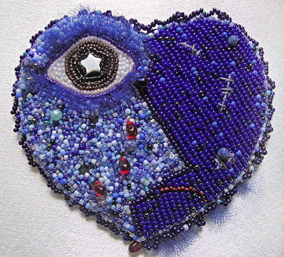 bead embroidery by Carmen, Broken