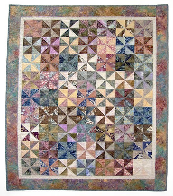 wall quilt by Pam Ehlers Stec