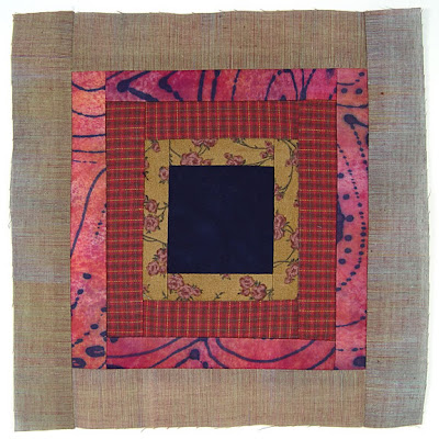 God's Eye Quilt, block 7, by Robin Atkins