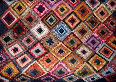 God's Eye Quilt by Kitty Sorgen