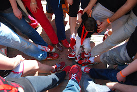 Team Wearing Red Shoes