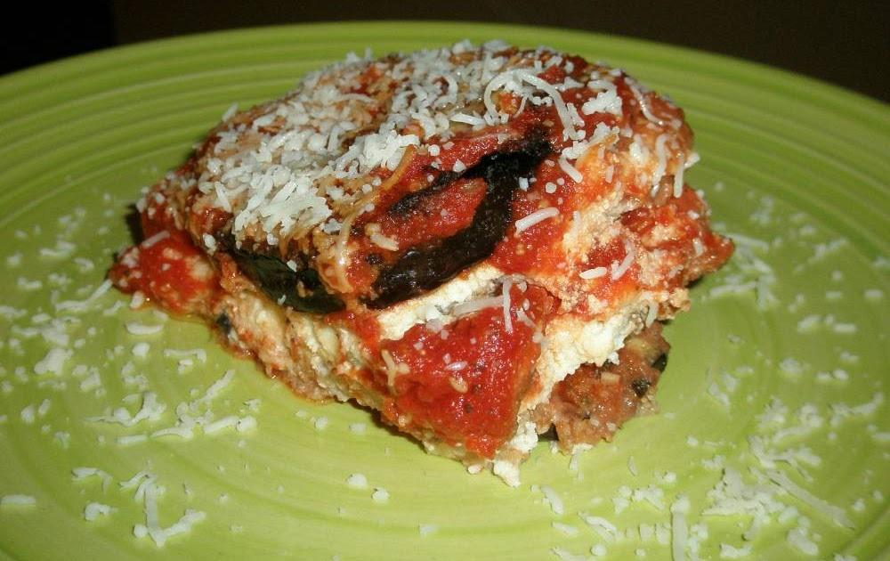 Jaime and Jen Dish: Eggplant Parmesan Lasagna Style