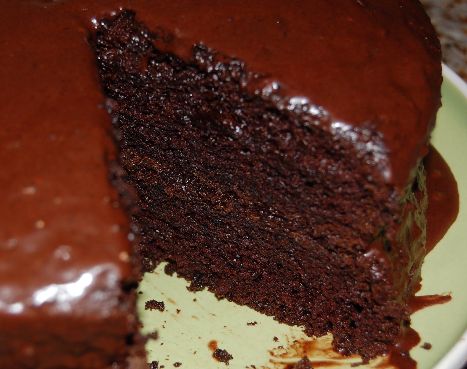 Jaime and Jen Dish: PMS Chocolate Cake