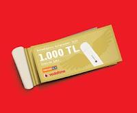 Vodafone Teknosa İşbirliği Modem İnternet Kampanyası