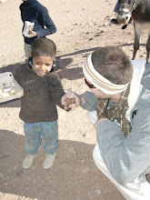 Charity work in Jordan, Middle East