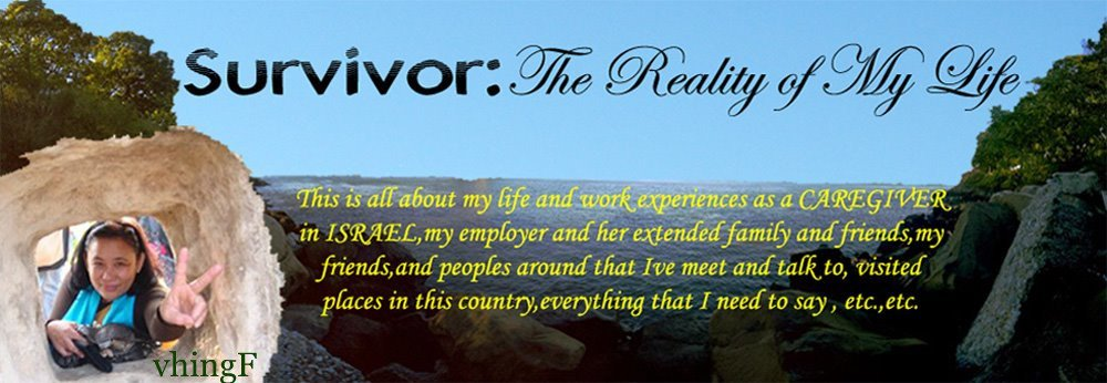 SURVIVOR: the REALITY of my LIFE
