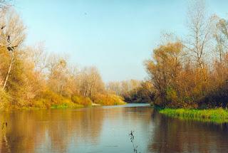 Осень, вода