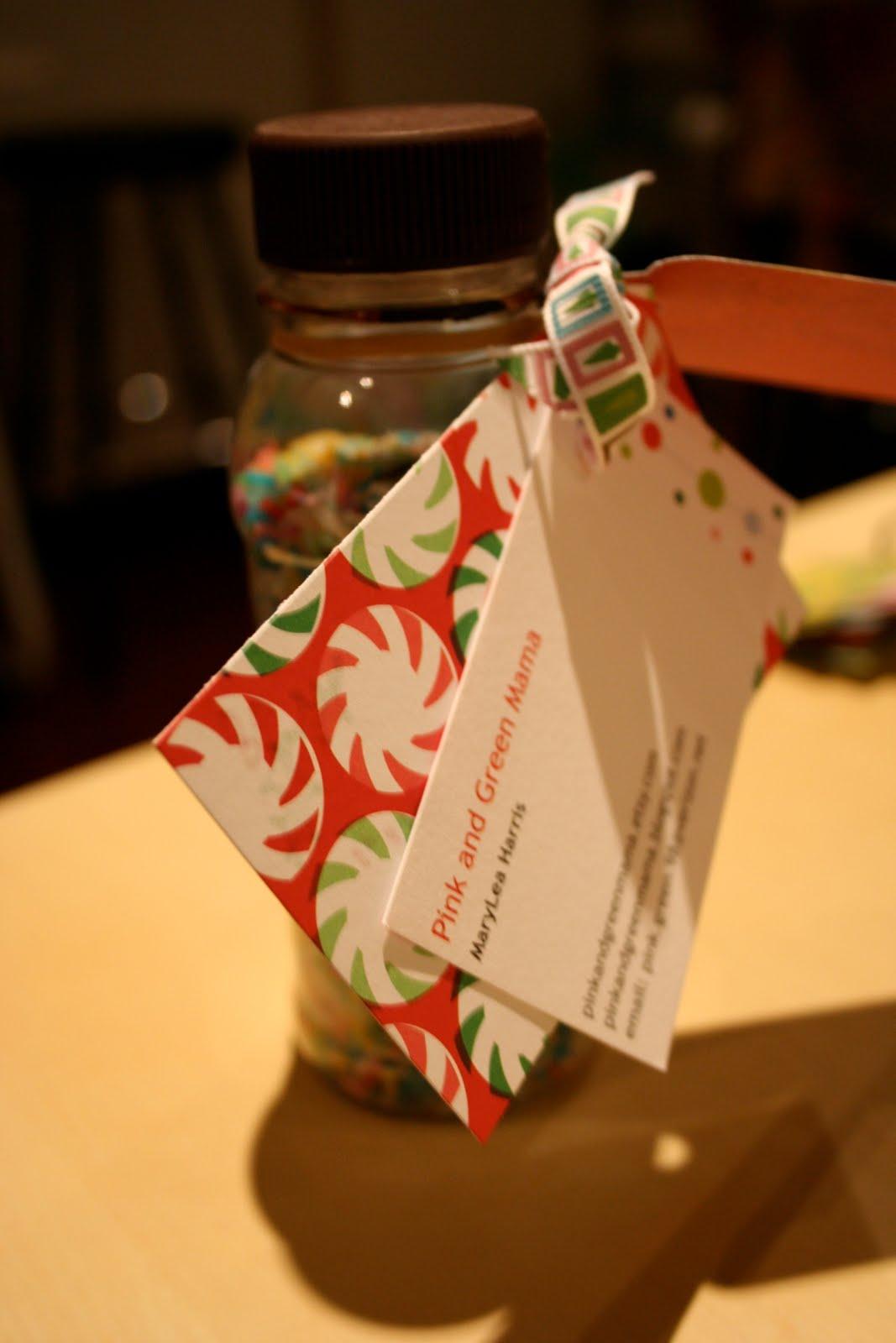 Pink And Green Mama Homemade Christmas Gifts Stocking