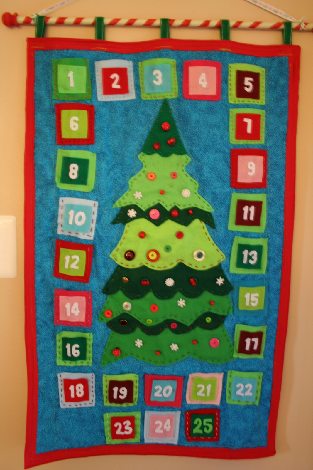 christmas quilts homemade