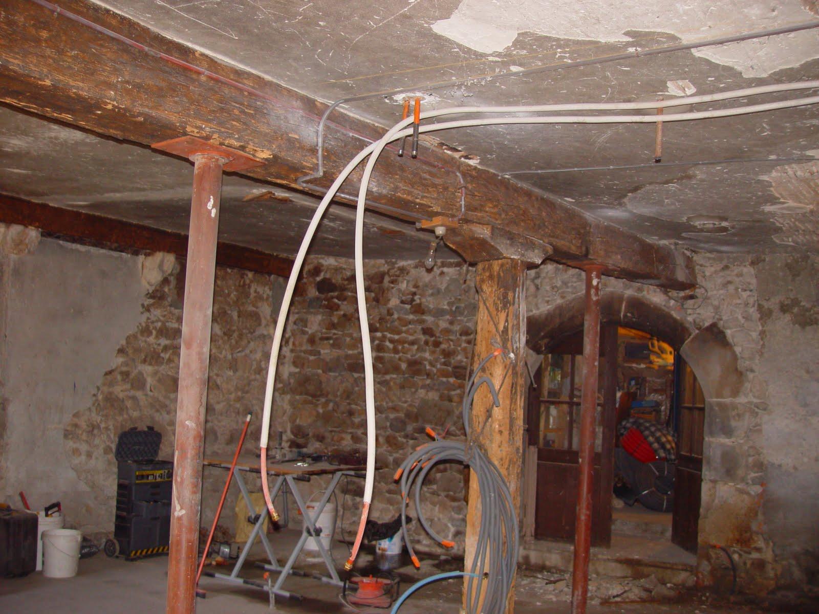 Mes travaux dalle et reprise chauffage - Chauffage par le plafond ...
