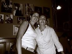 Julia del Prado y su hija Trilce