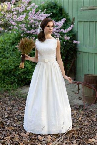 BRIDE CHIC: THE COTTON WEDDING DRESS