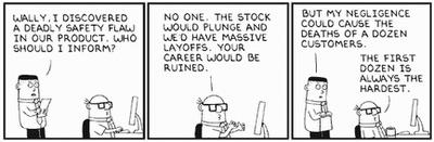 Dilbert - ethics