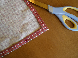 sewing cloth napkin corners step 4